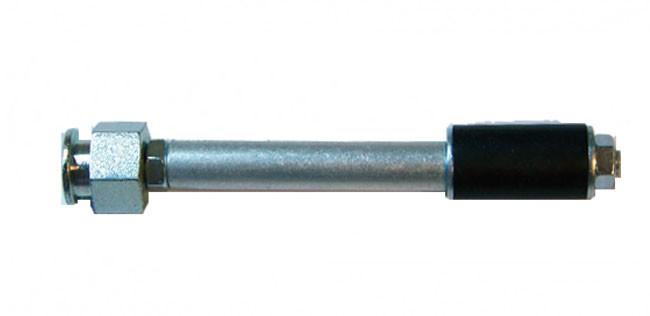 Инъекционный стальной пакер 16/120 мм с плоской масленкой